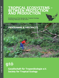 gtö conference Freising 2014, abstract cover